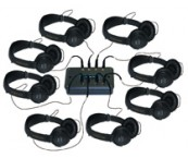8 Post Corded Group Listening Centre